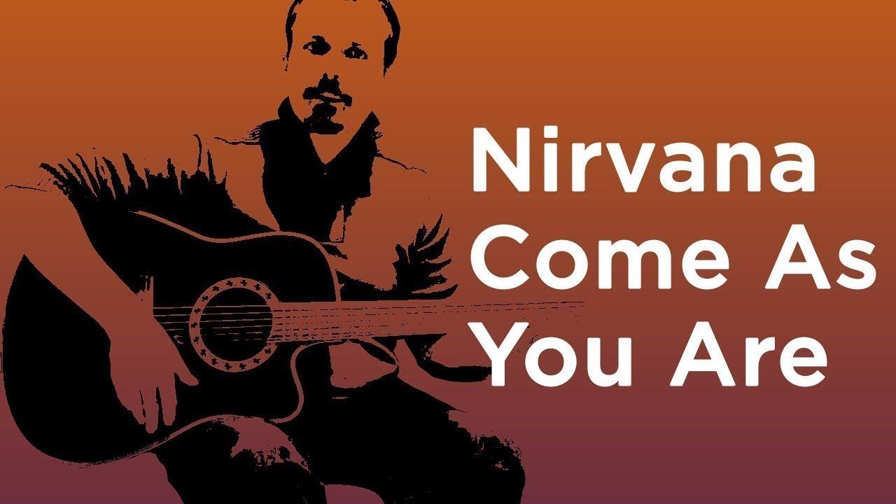Come As You Are Guitar Tutorial Nirvana Easy Guitar Lesson