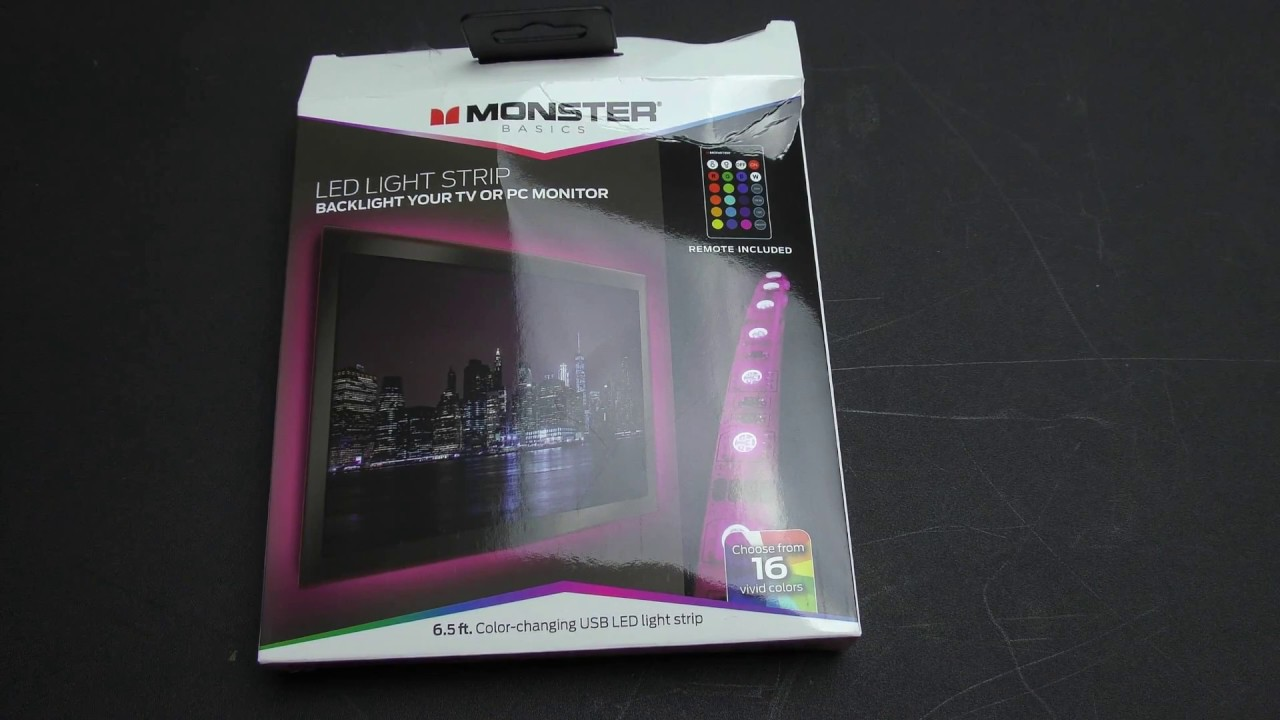 MONSTER LED STRIP LIGHTS REVIEW