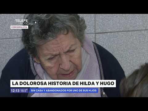 Abuelos desalojados y abandonados en un bar- Telefe Noticias Rosario