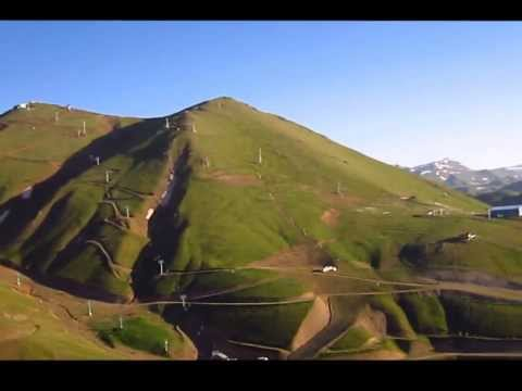 the Specialized MTB uphill in Turkey, Erzurum Palandoken Nature