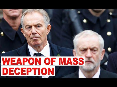 Tony Blair & Jeremy Corbyn Heated Debate Over Iraq War