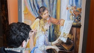 Renoir - Two Young Girls at the Piano | Art Reproduction Oil Painting