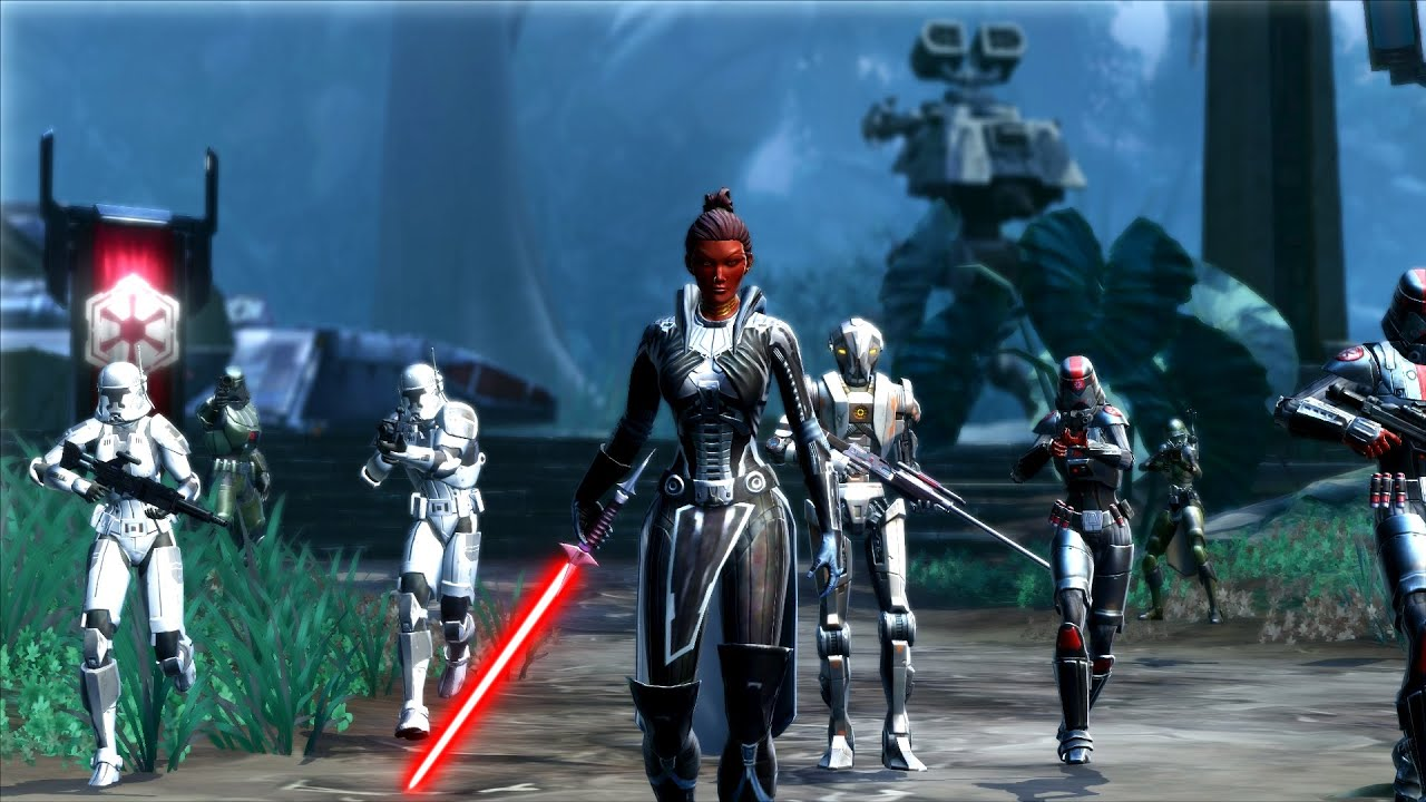trailer star wars the old republic