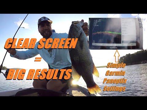 Lake James Fishing Guide- 40 Fish Again: Clean Panoptix Settings