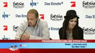 PK mit Stefan Raab und Lena Meyer Landrut
