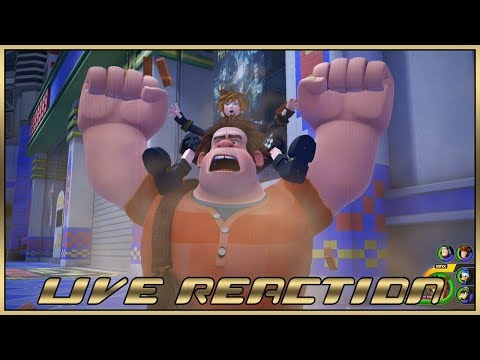 Live Reaction - Kingdom Hearts III Gameplay #KH3Premiere