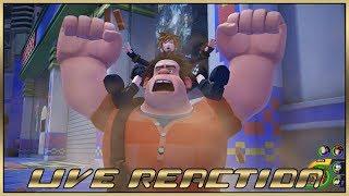 Live Reaction - Kingdom Hearts III Gameplay #KH3Premiere