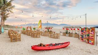 Tropical Themed Beach Dinner in Sheraton Grand Danang Resort