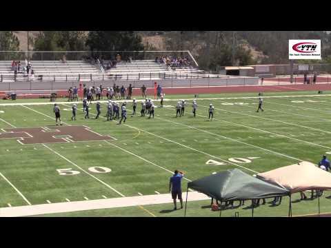Pop Warner FB  Huntington Beach vs Saddleback 9/5/2015 at LHHS