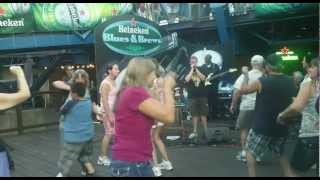 Mick Martin and Kyle Rowland-Riding in the Moonlight-state fair 2012
