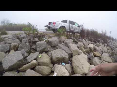 Fishing With A MARINE-Speckled Trout Bank Fishing