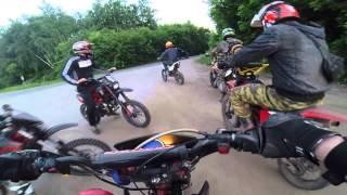 Pit Bike ttr 125 driving(, 2014-06-04T18:58:12.000Z)