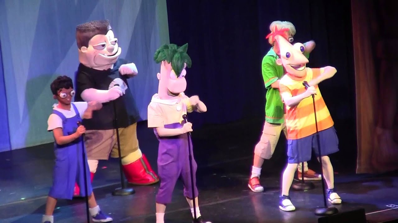 Phineas And Ferb The Best Live Tour Ever