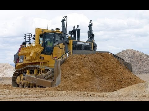 Extreme Bulldozers in action !!!