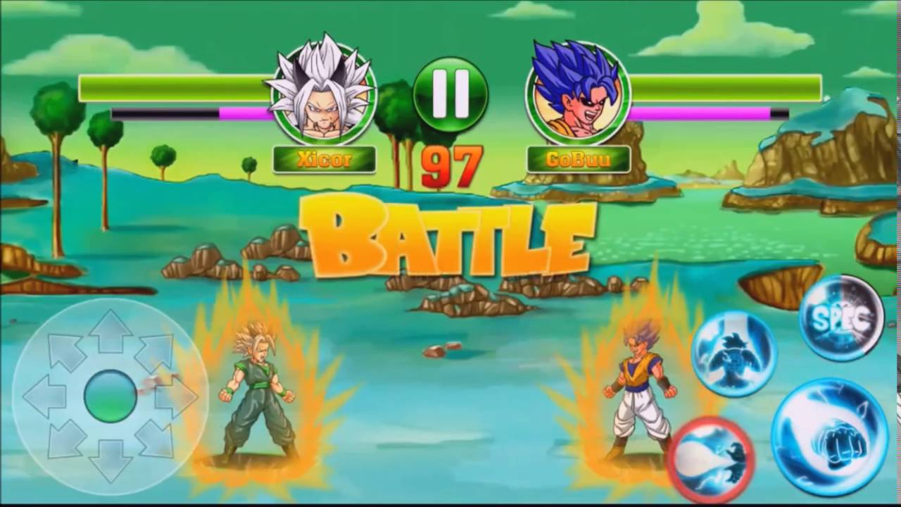 dragon ball z mobile game apk