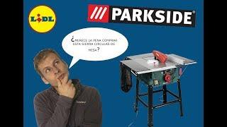 PARKSIDE - Sierra circular de mesa - PMTS 210 A1 - Probando la nueva herramienta de mi taller