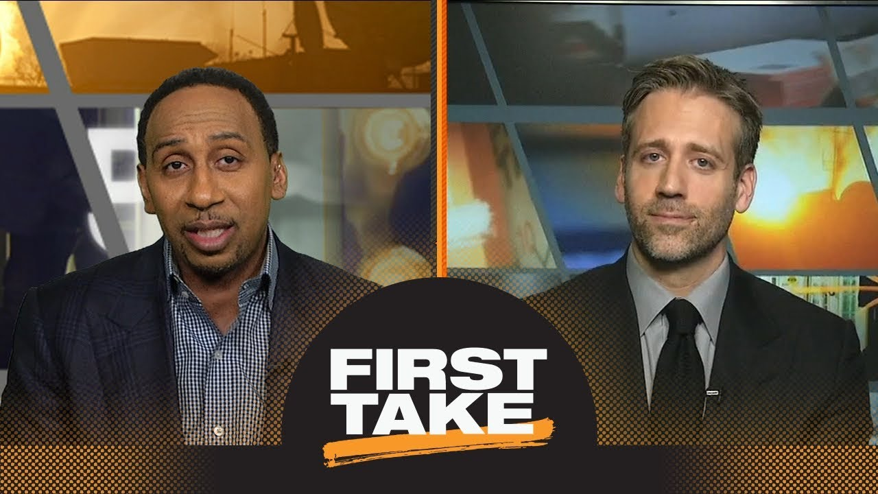 Stephen A. and Max react to LeBron James-Tyronn Lue argument during game | First Take | ESPN