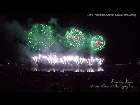 2018 SkyFire Fireworks Display in 4k