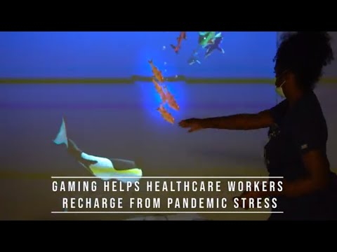Video Games Help Frontline Health Care Workers Recharge from Pandemic Stress