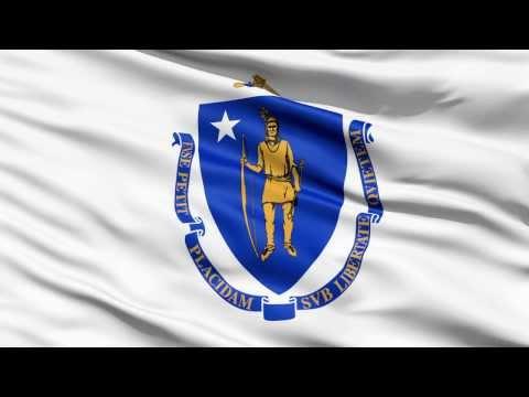 ME Commonwealth Massachusetts Flag