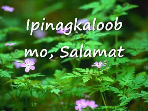 Salamat Oh! Diyos with Lyrics (the Original)