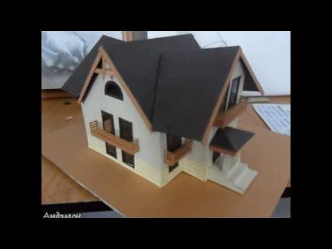 Дом из картона своими руками