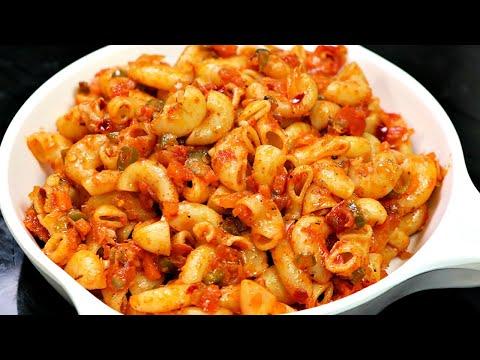 Indian Style Macaroni Pasta | आसान और टेस्टी पास्ता | Masala Macaroni | Pasta Recipe |KabitasKitchen