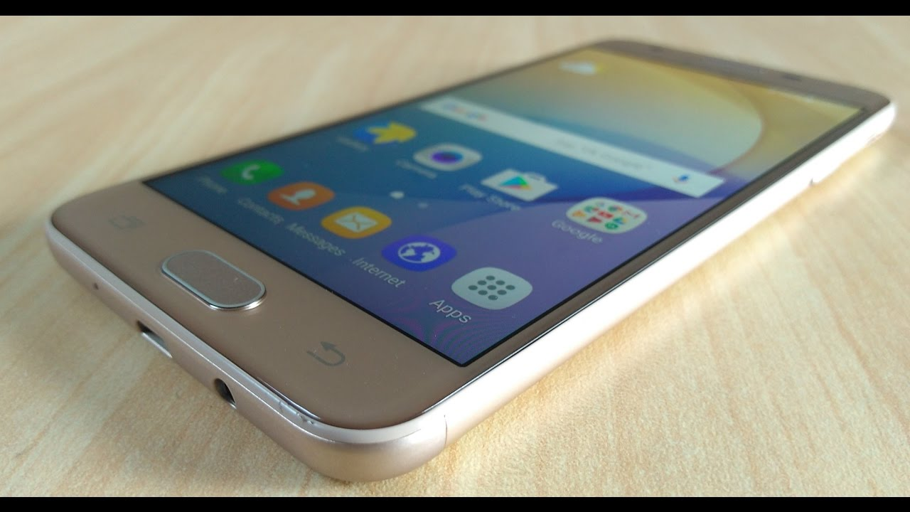 Samsung Galaxy J5 Prime Gold Full Review And Unboxing Youtube