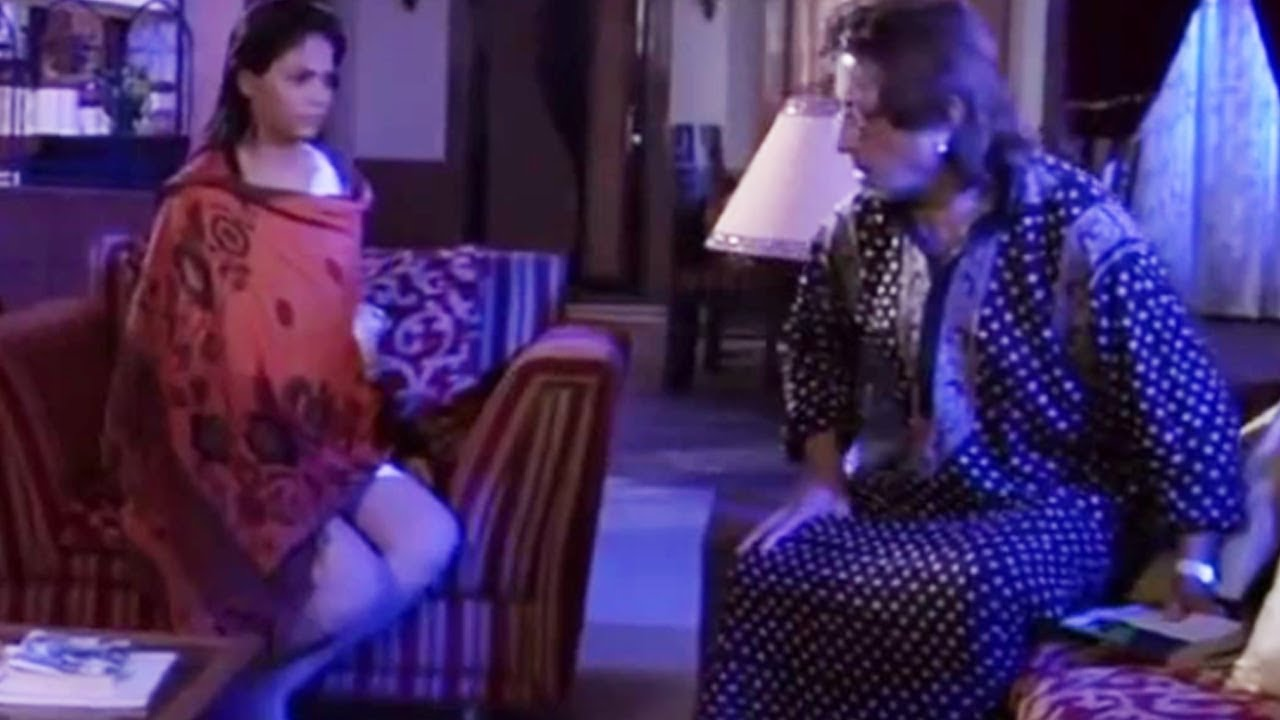 Download Shakti Kapoor With Strange Girl   Bollywood Scene   Neighbours: They Are Vampires