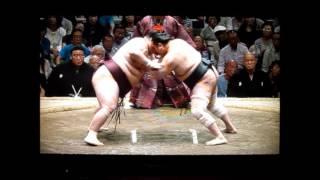 安美錦vs徳勝龍 平成27年大相撲五月夏場所 SUMO Aminishiki vs Tokushoryu.
