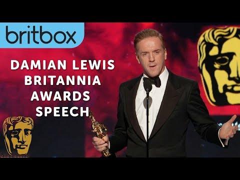 Damian Lewis Impersonates Michael Caine | Britannia Awards