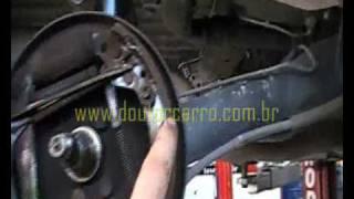 Dr CARRO  Dica Freio Traseiro Regular e Montar Gol Santana VW