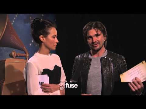 Juanes Talks Win @ Grammy Awards 2013
