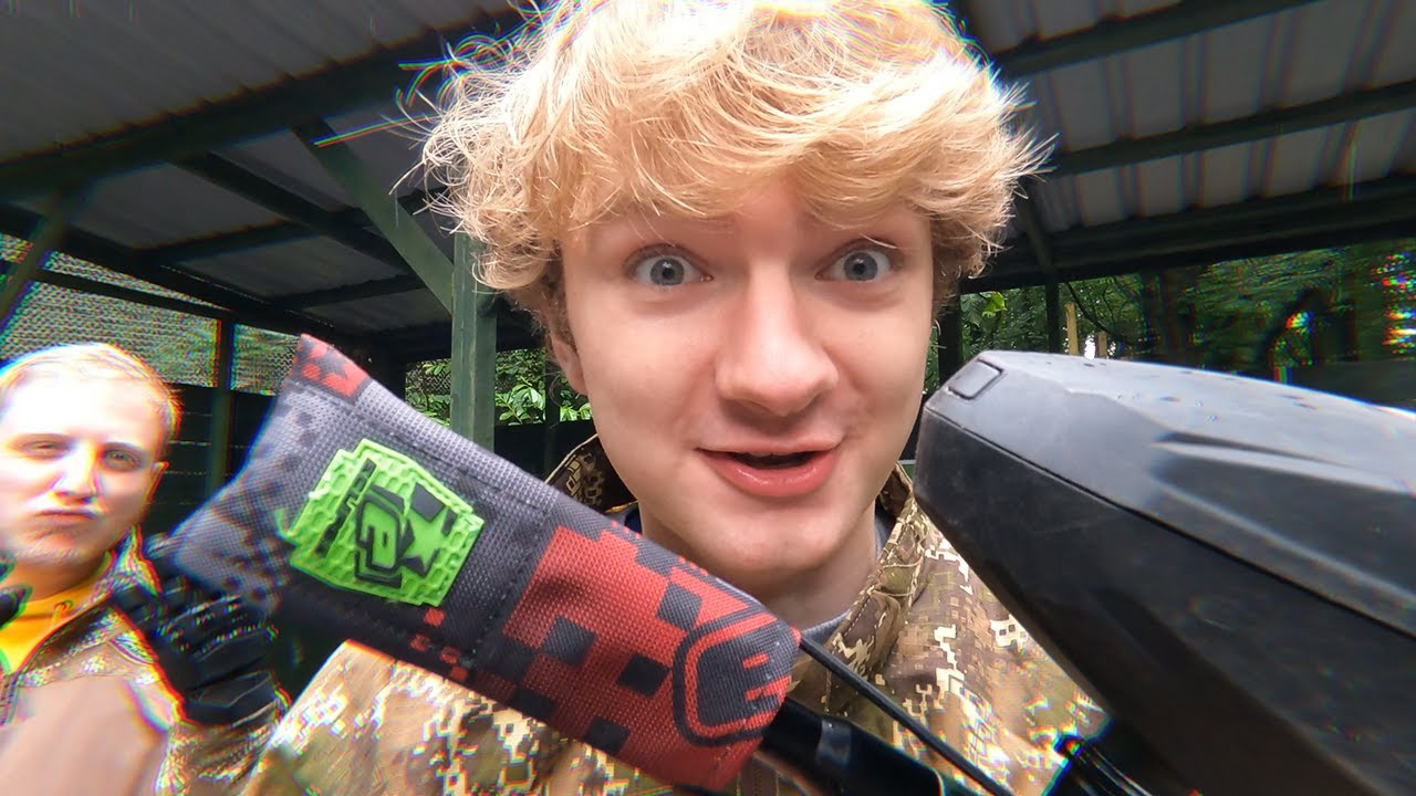 The World's Most Insane Paintball Match…