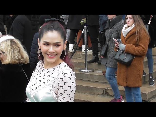 Araya Hargate อารยา อัลเบอร์ต้า ฮาร์เก็ต Chompoo @ Paris 23 january 2019 Fashion Week show Elie Saab