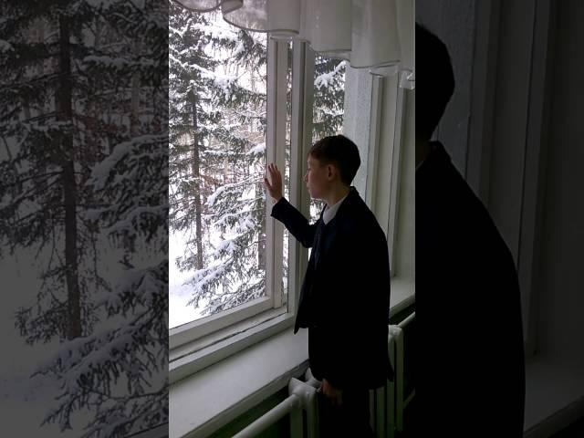 Изображение предпросмотра прочтения – ВладимирАнуфриев читает произведение «Первый снег (Серебро, огонь и блёстки…)» В.Я.Брюсова