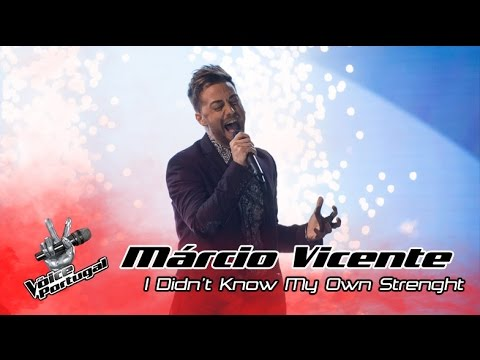 Márcio Vicente - I Didn't Know My Own Strenght (Whitney Houston) | Gala | The Voice Portugal