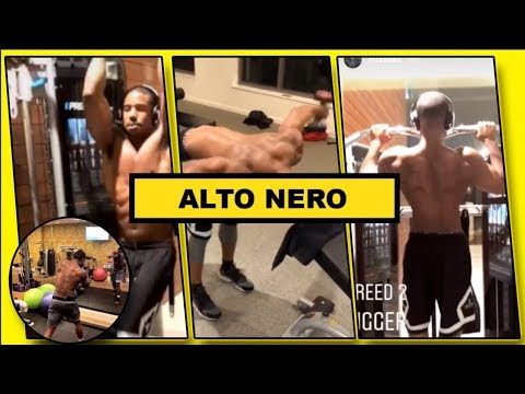 Michael B Jordan Creed 2 Workout  | Looking Unbelievably  Ripped For New Movie Creed 2 | 2018