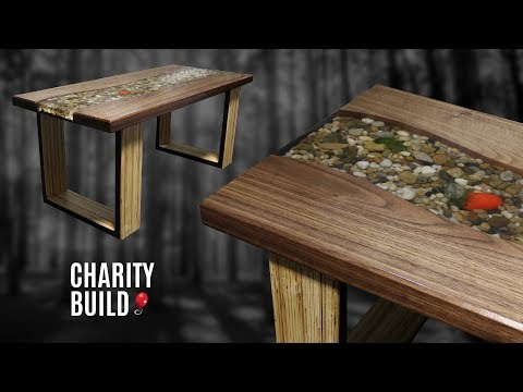 Riverbed Coffee Table - Charity Build