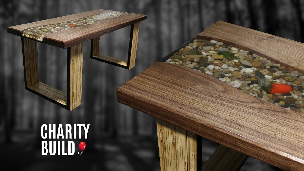 Riverbed Coffee Table Charity Build Youtube