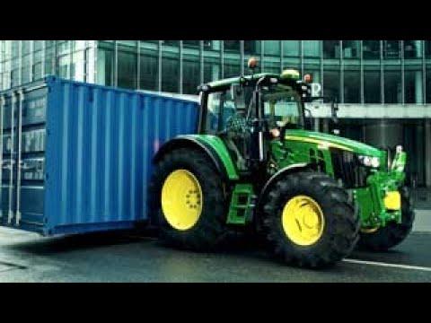 John Deere - Trator 6M - Carregar