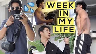 A Week in My Life: Home Workout + Plant Shopping!
