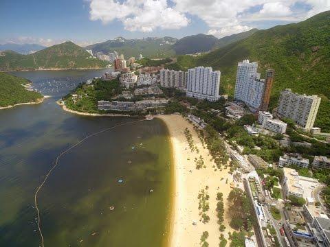 HD Drone Video - Hong Kong Southside