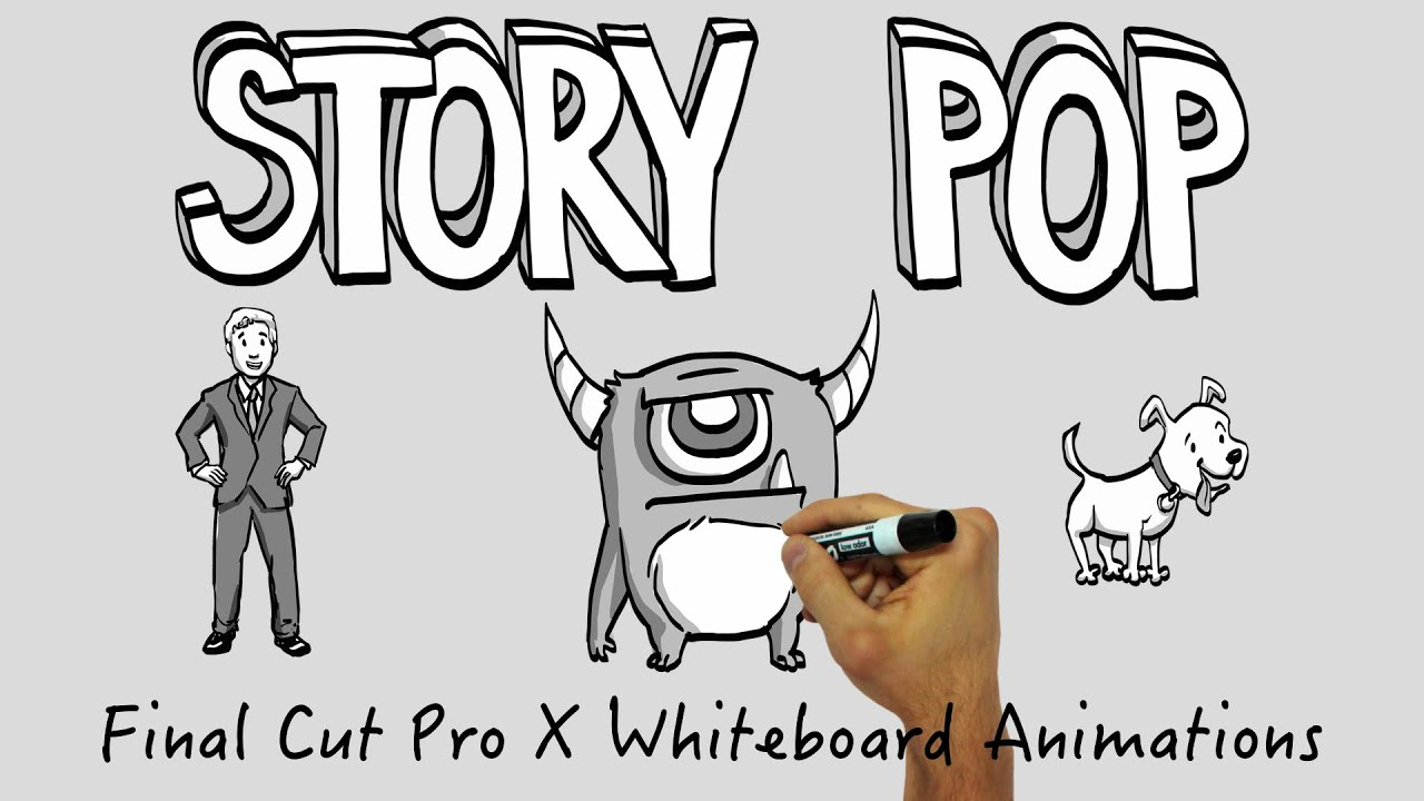 Drawing Lines In Final Cut Pro : Story pop fcp whiteboard animations youtube