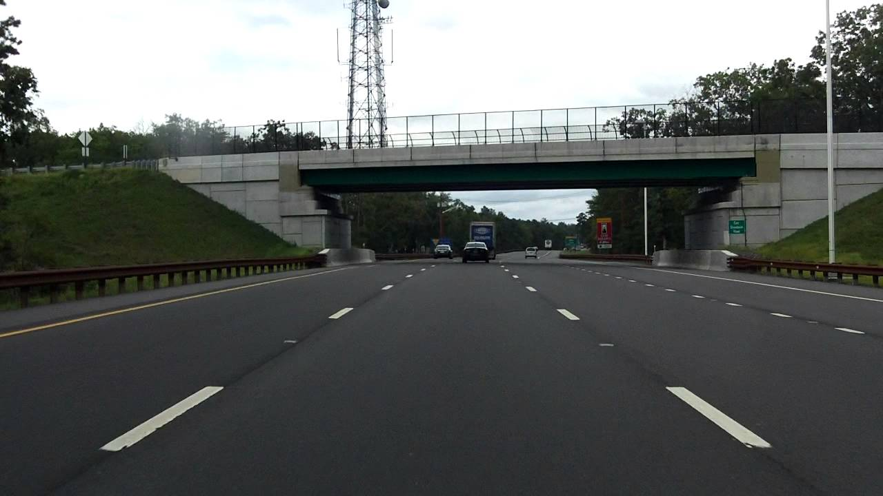 Garden State Parkway (Exits 48 to 58) northbound [2014 Construction Update]  - YouTube
