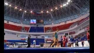 Чемпионат России по прыжкам на батуте в Краснодаре