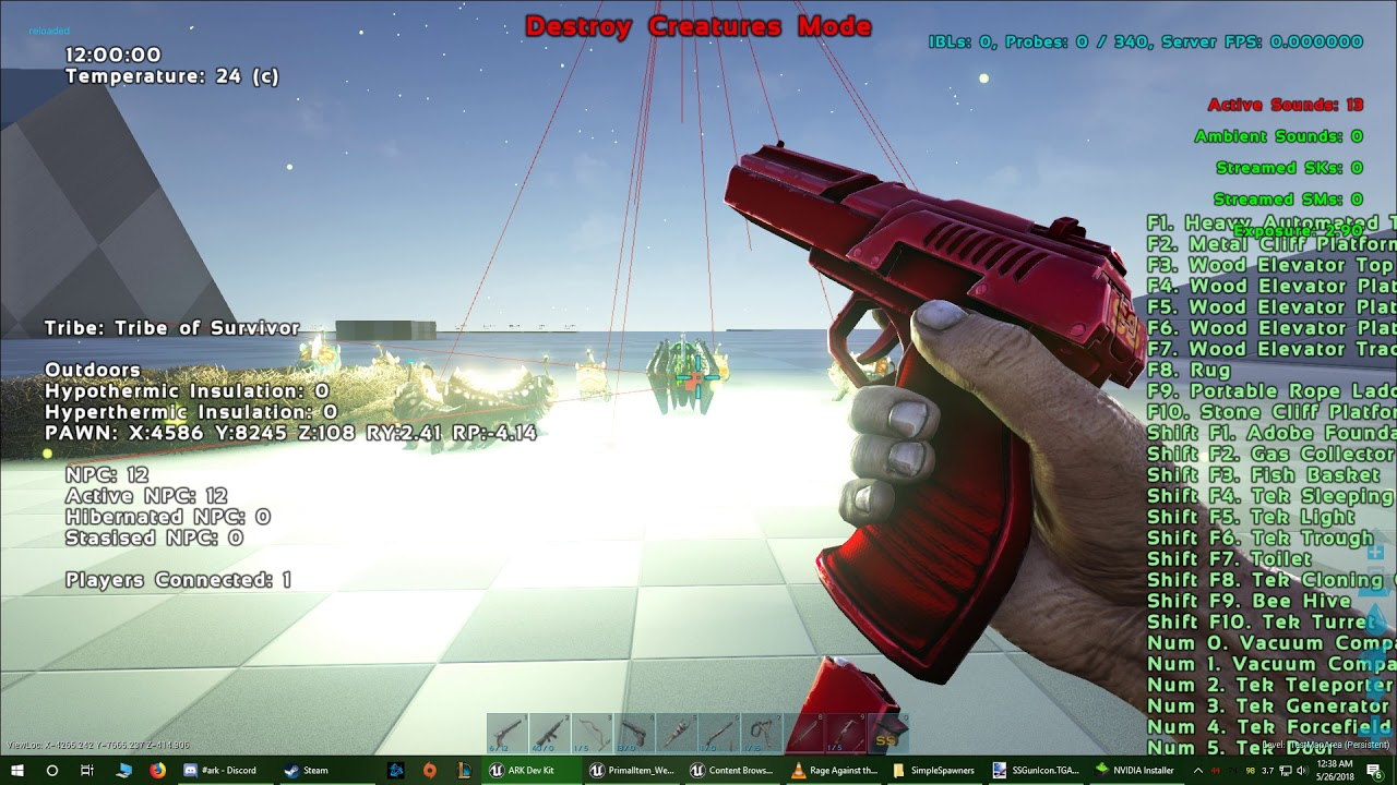 Steam Community :: Video :: Ark Mod: Simple Spawners - Gun