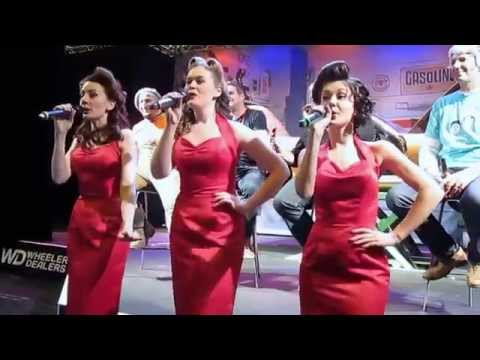 The Glamophones, Boogie Woogie Bugle Boy Of Company B, Lancaster Insurance Classic Motor Show 2015