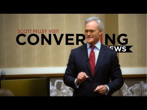 Converging News: Scott Pelley Visits Media & Communication ...