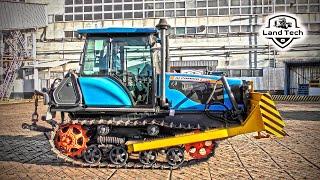 Гусеничный трактор Агромаш-90ТГ - именно так выглядит легендарный советский ДТ-75 в 2021 году!